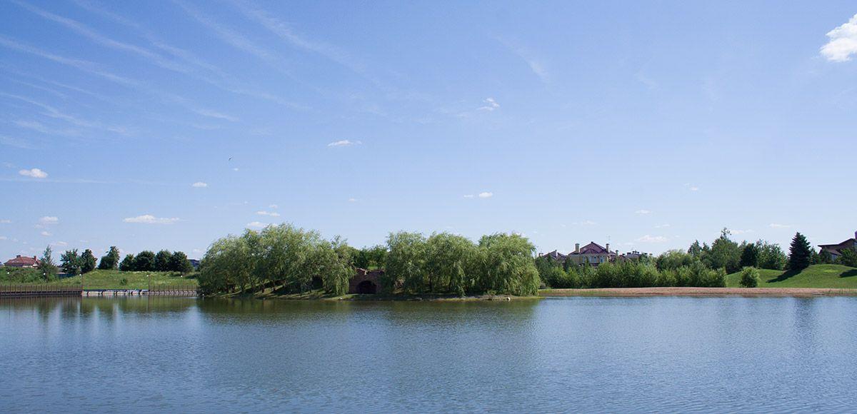 Большое озеро, поселок Онегино