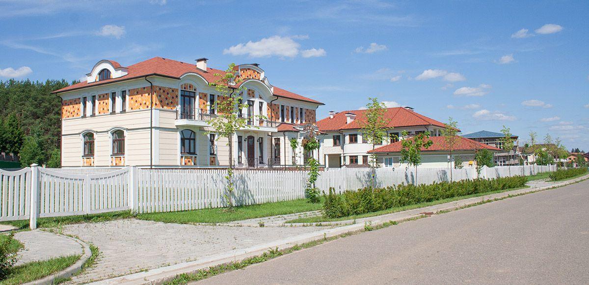 Панорама улицы, вид 9, поселок Онегино