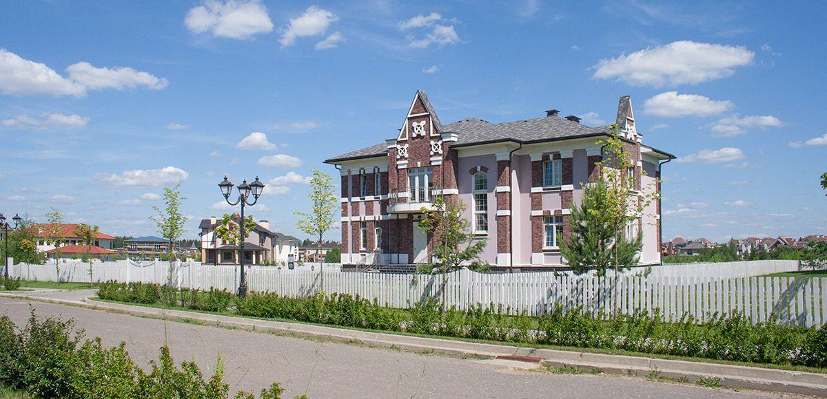 Панорама улицы, вид 5, поселок Онегино