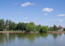 Малое озеро, вид 1, поселок Онегино