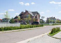 Панорама улицы, вид 6, поселок Онегино